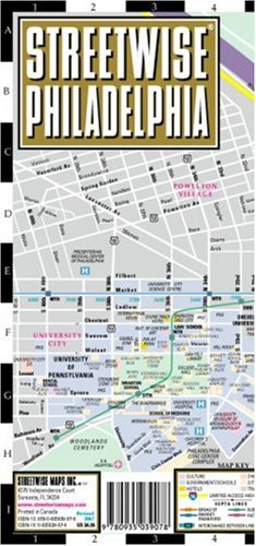 Streetwise Philadelphia Map