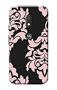 Moto G Play, 4th Gen KanvasCases Premium Quality Designer Printed 3D Lightweight Slim Matte Finish Hard Case Back Cover for Moto G Play, 4th Gen + Free Mobile Viewing Stand