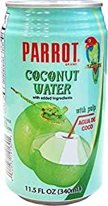 Parrot Coconut Juice, 11.5-Ounce (Pack of 24)