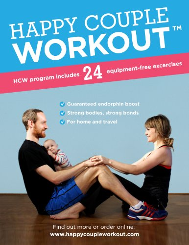 Happy Couple Workout DVD - 24 equipment-free exercises