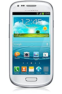 Samsung Galaxy S3 Mini GT-I8200 factory Unlocked International Version Cell Phone - Retail Packaging - White