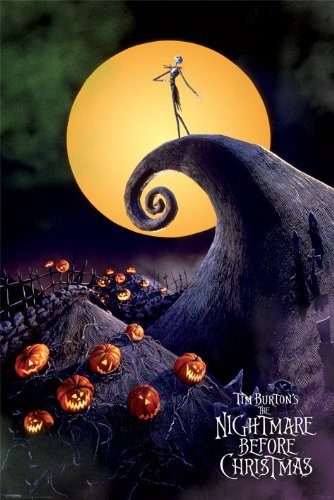 Nightmare Before Christmas-Metallic Signature-Poster 61 x 91,5 Cm/Poster ""
