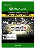 Madden NFL 15: 5,750 Points - Xbox One [Digital Code]