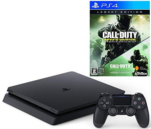 【12/6プライム会員限定 参考価格から8,830円OFF】PlayStation 4 ジェット・ブラック 500GB(CUH-2000AB01)+ コール オブ デューティ インフィニット・ウォーフェア レガシーエディション