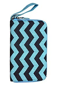 Malia Designs Chevron Zip Fair Trade Travel Wallet