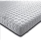 5FT KING SIZE MEMORY FOAM AND REFLEX 5 ZONE MATTRESS MICRO QUILTED EXCLUSIVE COVER BEDZONLINE AND TAPE EDGED 1 SIDE UK MANUFACTURED 2 X FREE FIBRE PILLOWS