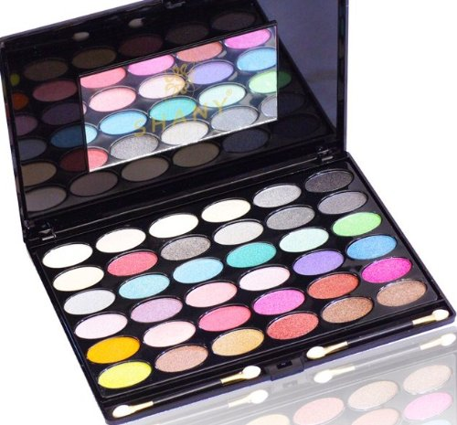 SHANY Shimmer Eyeshadow Palette, Bold and Bright Collection, Limited Edition, 11 Ounce