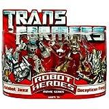 Transformers Robot Heroes Autobot Jazz VS. Decepticon Frenzy