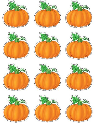 Teacher Created Resources Mini Accents, Pumpkins (5129)