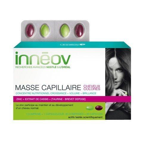 Inneov Hair Mass Colored Hair 60 Caplets