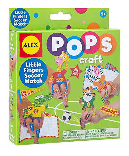 ALEX Toys POPS Craft Little Fingers Soccer Match - 1