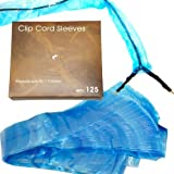 """125 Tattoo Clip Cord Disposable Individual Cover Bags Clean Barrier Supply 2"""" x 45"""""""