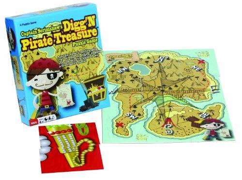 Captain Scrimshaw's Digg N Pirate Treasure