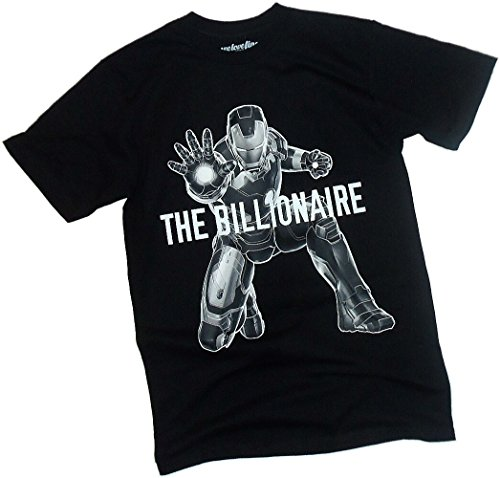 The Billionaire -- Iron Man -- Avengers: Age Of Ultron T-Shirt
