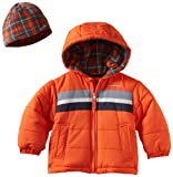 London Fog Boys 2-7 Toddler Hooded Bubble Jacket