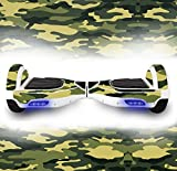 Balance Board Hover Scooter Skin Wrap Protective Adhesive Peel Stick Vinyl Decal Balancing Scooter Hoverboard Skin Sticker 2 Wheel Self Balancing Unicycle Cover vinyl case Sticker (CAMO)
