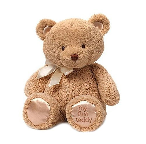 Gund My First Teddy Bear Baby Stuffed Animal, 15 inches (Gund Bears compare prices)