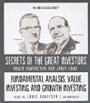 Fundamental Analysis, Value Investing...