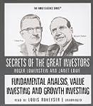 Fundamental Analysis, Value Investing...
