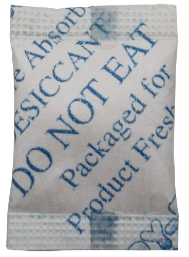 Cheap Dry-Packs 1/2gm Cotton Silica Gel Packet, Pack of 50 (1/2Gr.Cotton-50pk)