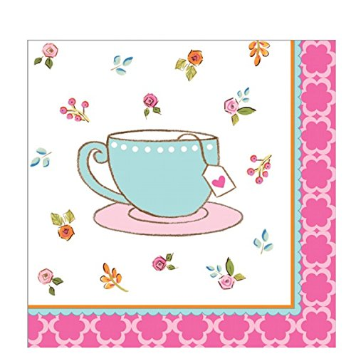 Tea Time Beverage Napkin (16) Party Supplies