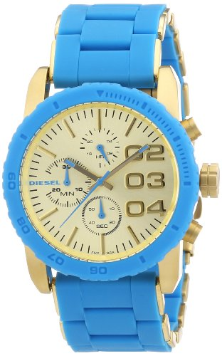Diesel Damen-Armbanduhr Chronograph Quarz Plastik DZ5360