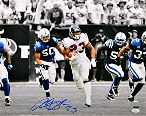 Autographed Arian Foster Houston Texans Photo - 16x20 Witness - JSA Certified -... by Sports Memorabilia