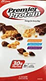 Premier Protein Bar Variety Pack, 2.5-oz Each (Pack of 24)