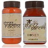 Shree Radhe Honey And Shree Pareva Honey - 1kg (Combo Of 2)