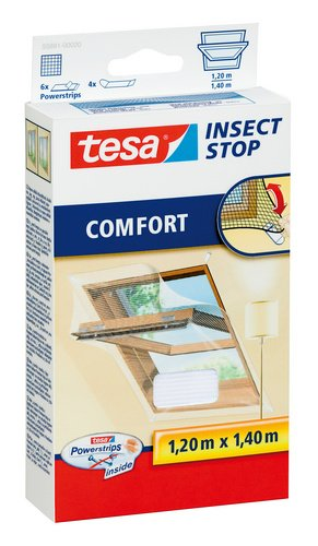 tesa fliegengitter f r dachfenster beste tesa qualit t wei leichter sichtschutz 1 2m x 1 4m. Black Bedroom Furniture Sets. Home Design Ideas