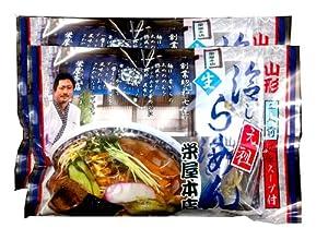 【送料無料】 山形名物 栄屋本店 元祖冷やしらーめん4食セット