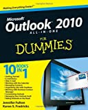 img - for Outlook 2010 All in One For Dummies by Fulton, Jennifer, Fredricks, Karen S. [For Dummies,2010] (Paperback) book / textbook / text book