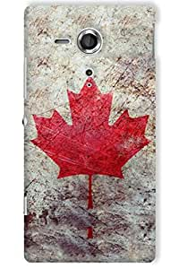IndiaRangDe Hard Back Cover FOR Sony Xperia SP C5302 C5303