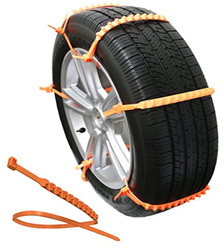 Zip Grip Go Cleated Tire Traction snow ice mud - Car SUV Van Truck (Tires Zip Ties compare prices)