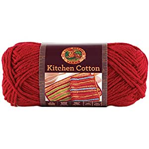 Lion Brand Yarn Company 1 Piece Kitchen Cotton Yarn Hot Pepper Kitchen Home