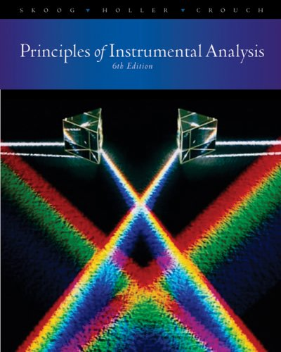 Principles of Instrumental Analysis sixth edition