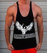 Hijo de Zeus Brother de Hercules Padre de estética camiseta, Stringer, Tank Top, Chaleco, Culturismo, espalda cruzada Y-back