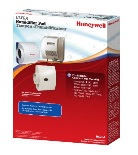 Honeywell  HC26A1016/U Whole House Humidifier Replacement Pad (White)