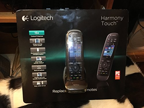 Logitech 915-000252 Harmony Touch Screen Rechargeable 15 Dev