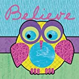 Highlighter Belief Owl by Gibbons, Lauren - Fine Art Print on PAPER : 20 x 20 Inches