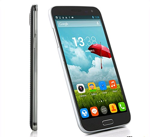 Mobiper 1228 S5 Mtk6592 1.7Ghz Octa Core Phone 5.2Inch 1080P Capacitive Touch Screen Android 4.2 1G Ram+ 8G Rom 1.3Mp Camera Dual Sim 3G Wcdma Unlocked Smartphone At&T Black