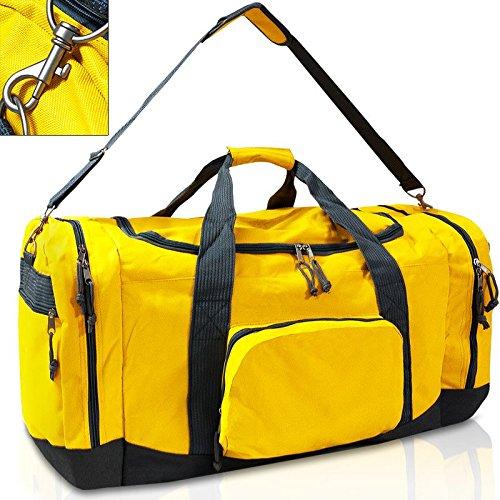 Borsa da viaggio, 95 L 70 cm Sport, Borsa da viaggio, misura XXL, con borsa per il trasporto, Borsa sportiva