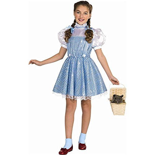 Sequin Dorothy Deluxe Kids Costume