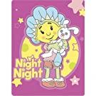 Childrens/Kids Fifi and the Flower Tots Night-Night Design Fleece Blanket