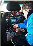 Auto asiento trasero Tablet iPad Organizador Multi Funda Protector de espalda de asiento nr 3 [007]