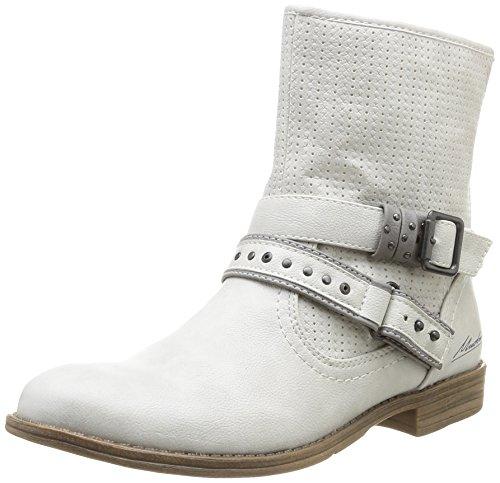 Mustang 1157-505-203, Damen Kurzschaft Stiefel, Elfenbein (203 ice), 40 EU