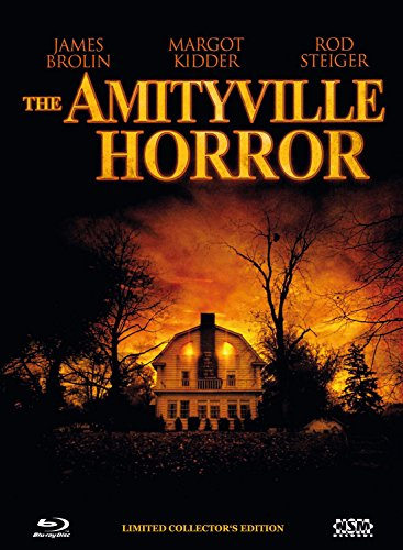 Amityville Horror 1979 - uncut [Blu-Ray+DVD] auf 555 limitiertes Mediabook Cover A [Limited Collector's Edition]