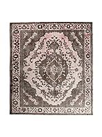CarpeTrade Alfombra Deluxe Persian Vintage (Rosa/Marrón)