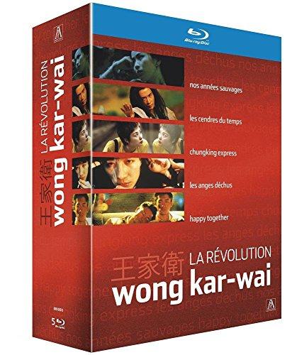 Coffret La Revolution Wong Kar-Wai - Nos Annees Sauvages + Les Cendres Du Temps + Chungking Express + Les Anges Dechus + Happy Together [Blu-Ray]