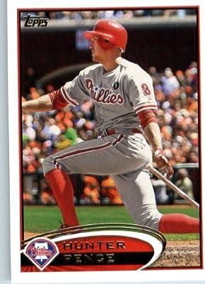 2012 Topps Baseball Card #120 Hunter Pence - Philadelphia Phillies - MLB Trading Card